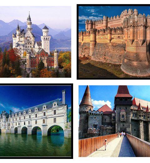 10 kastelen in Europa die je bezocht moet hebben
