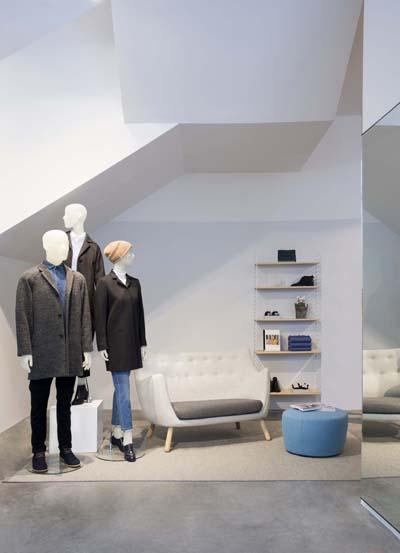 Cos opent de deuren in gent for Interieur winkel gent