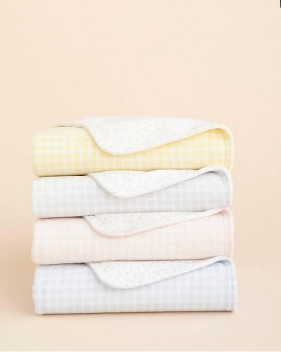 Little by Hudson Park Plush Blanket