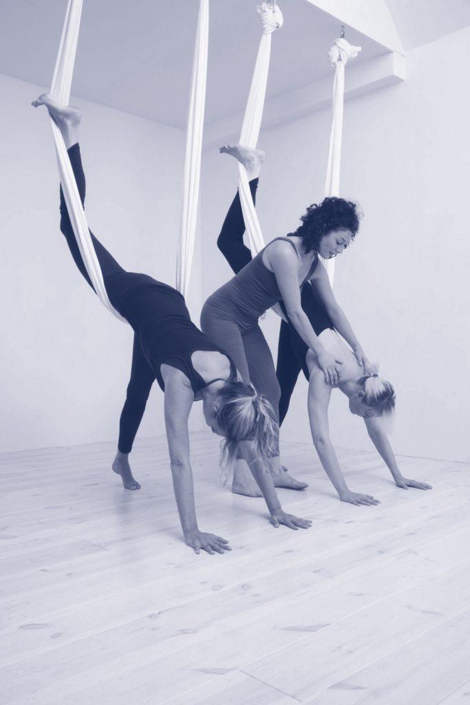 aerial Yoga getest