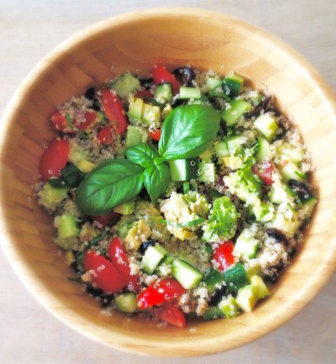 Snelle Detox Lunch: Quinoasalade