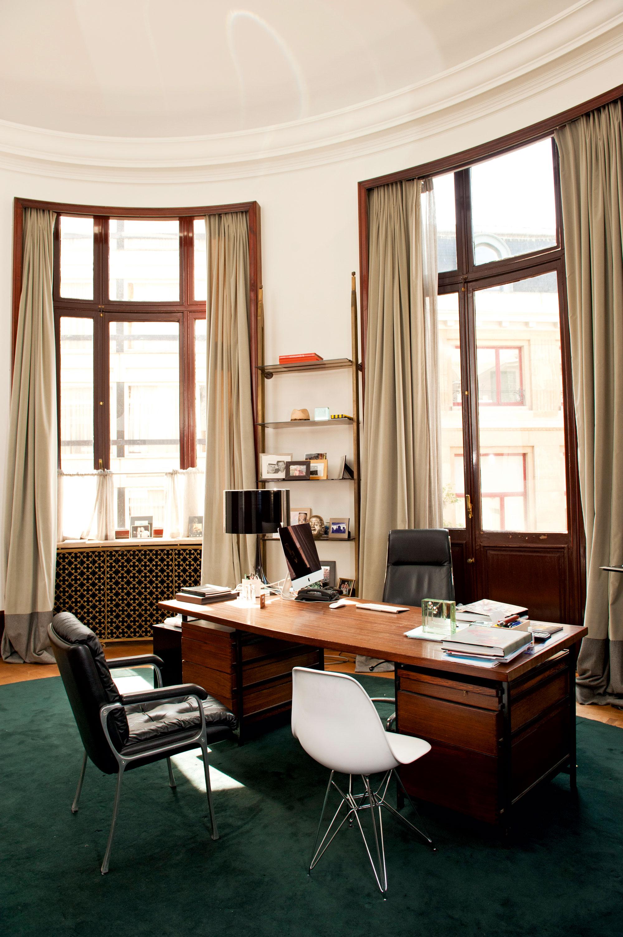 Esfans 'oval office': clean, licht en luchtig