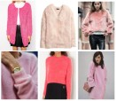 fluffy roze sweater