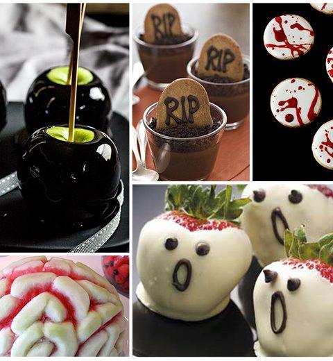 5 desserts voor Halloween
