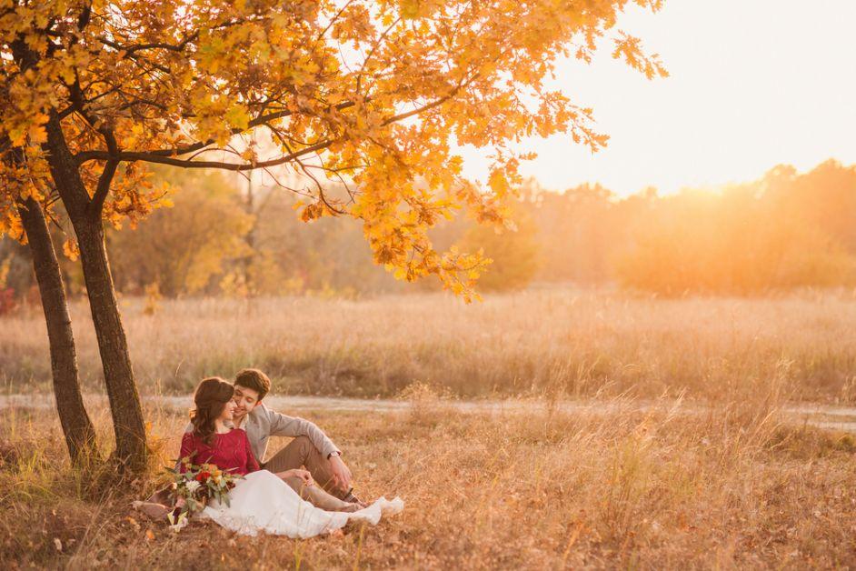 herfst, date, romantisch, liefde, relatie