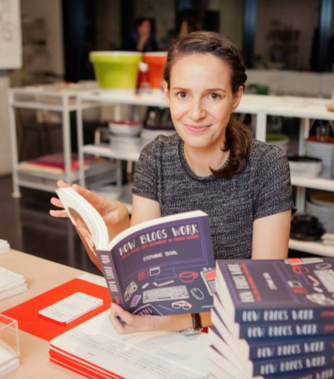 How blogs work: Stephanie Duval schrijft boek met tips & tricks