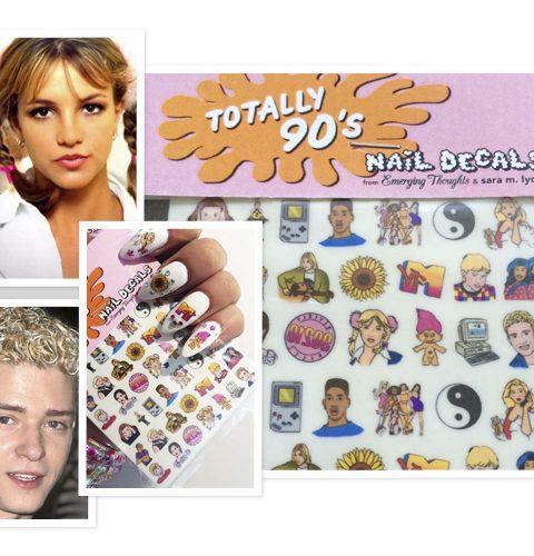 De jaren '90 op je nagels