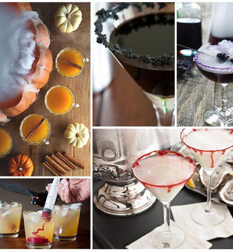 5 geheimzinnige cocktails voor Halloween