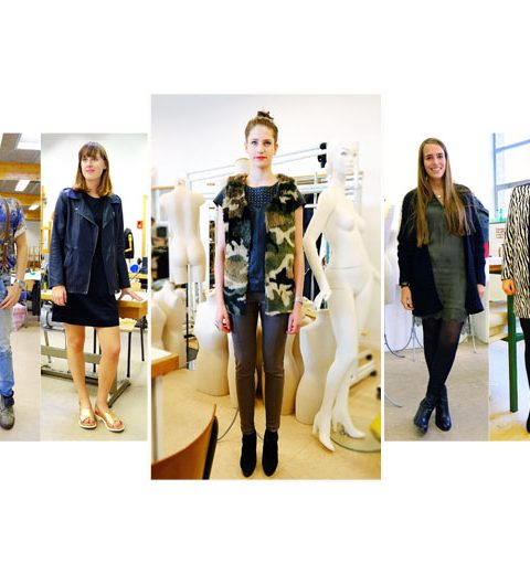 Streetstyle modescholen: SASK Sint-Niklaas