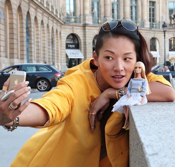 Selfie met Tina Leung