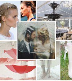 Hoe overleef je regen op je huwelijksdag?
