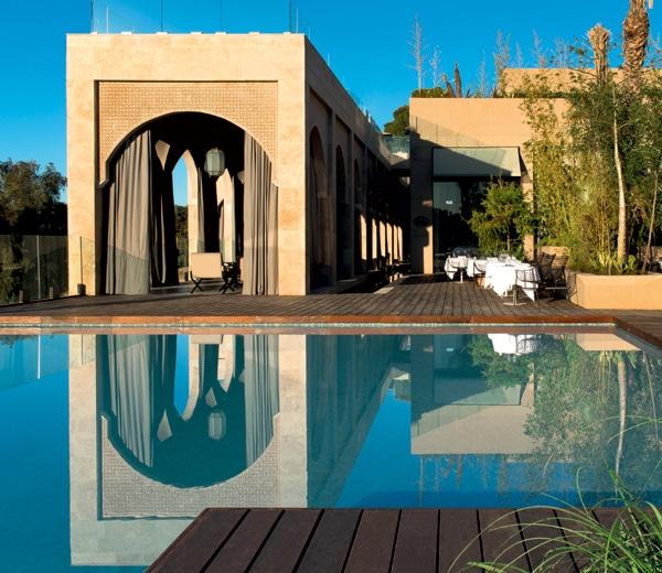 spa, hotel sahrai, fez, marokko