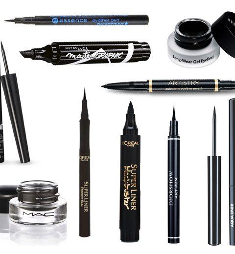 GETEST: 10 eyeliners