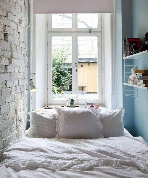 5 tips om een kleine slaapkamer optimaal te benutten - elle.be, Deco ideeën