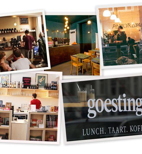 5 x koffieklets in Gent