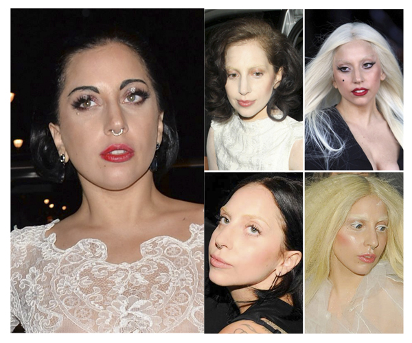 ladygagabrows