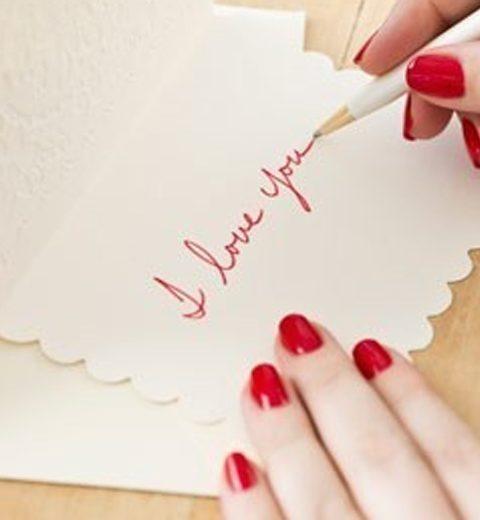 Pinspiration. Kleine romantische attenties van geliefden
