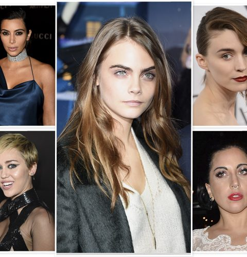 Bizarre beautytrend: gebleekte wenkbrauwen