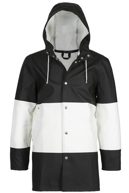 Stutterheim_Stockholm_LargeStripe_BlackWhite_coat_265euro