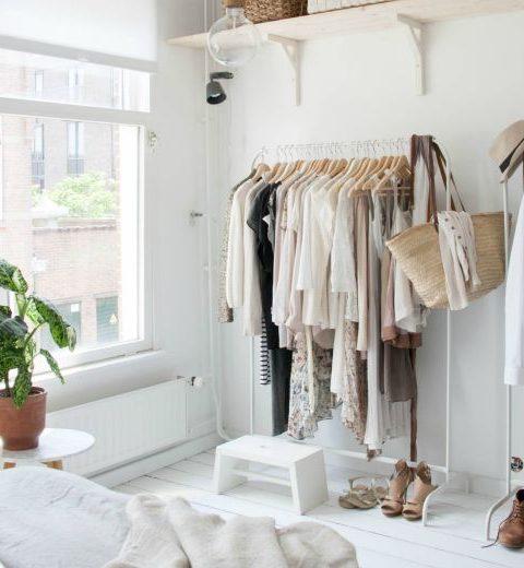 How to: 10 x je kleding opbergen zonder kast