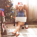 de blok studeren tijdens feesten kerstmis
