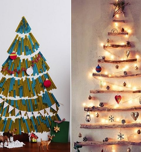 3 alternatieven op de traditionele kerstboom