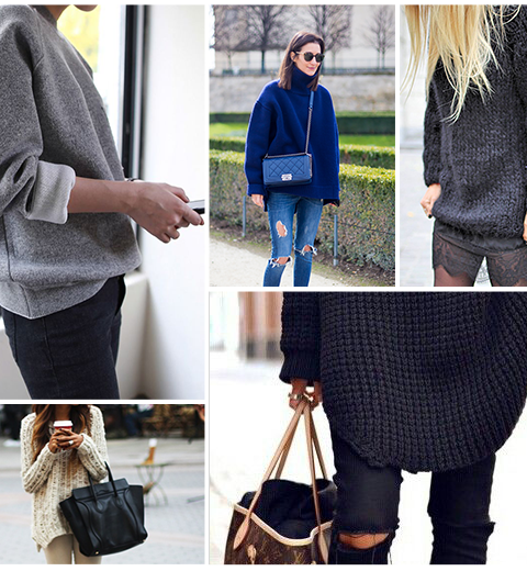 How to wear: de oversized sweater