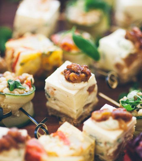 6 vegetarische aperitiefhapjes om je vingers bij af te likken