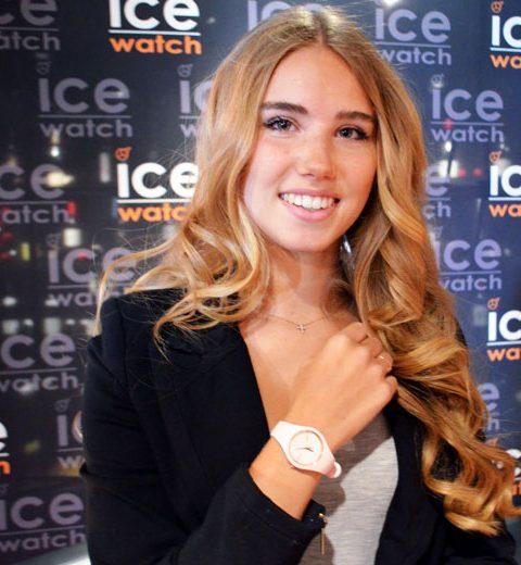 WK-babe is nieuwe gezicht Ice Watch
