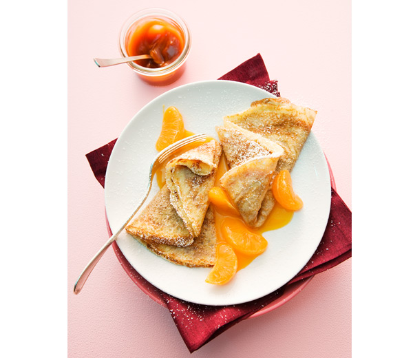 Crepes-mandarines