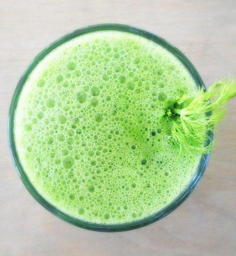 Detox Green Juice met venkel en peer