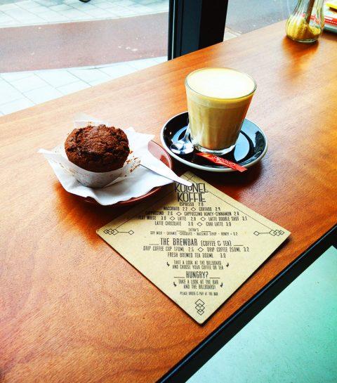 Nieuw in Antwerpen: Kolonel Koffie