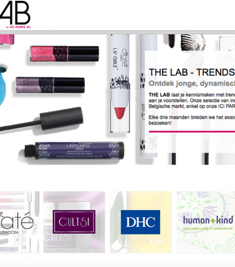 The Lab verzamelt trendsettende beautymerken
