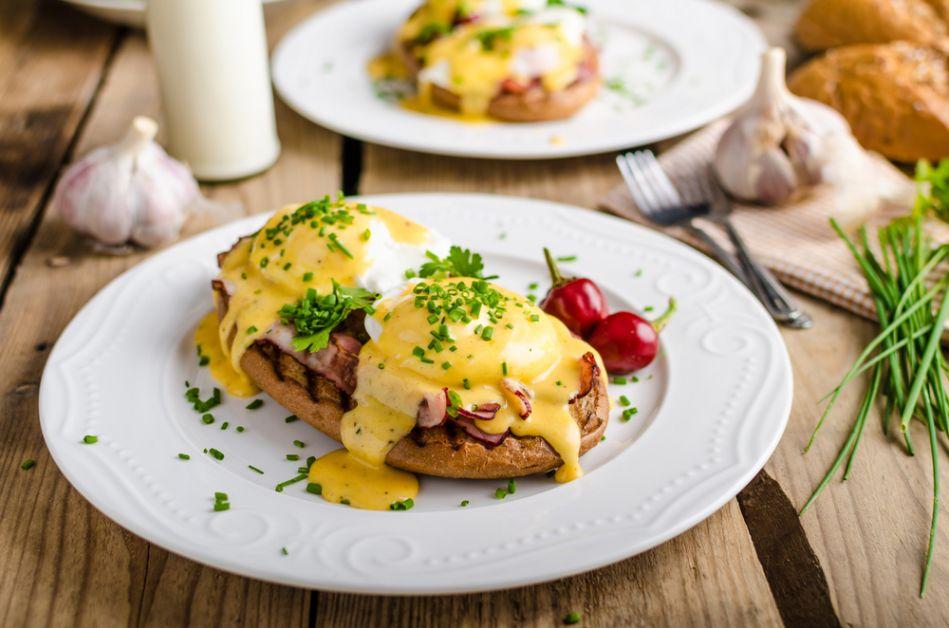 brunch, hartig, recept, gepocheerd, eieren