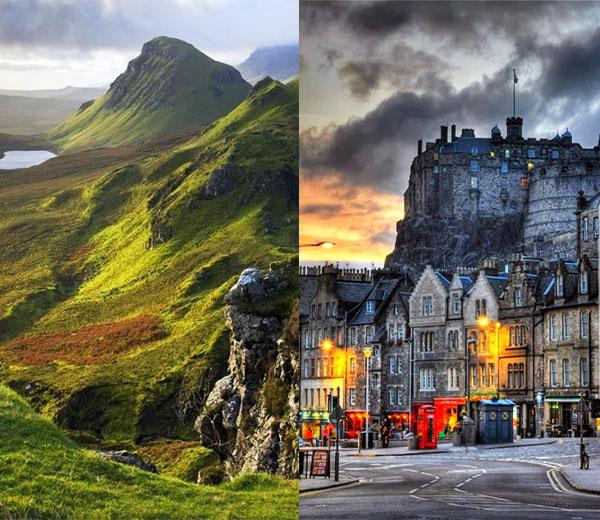 Schotse Highlands & Edinburgh
