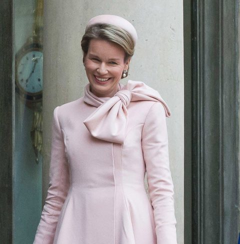 koningin mathilde inspireert designtas - elle.be