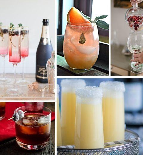 10 cocktails in een winters jasje
