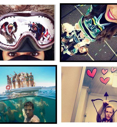 Pinspiration: 10 originele selfies