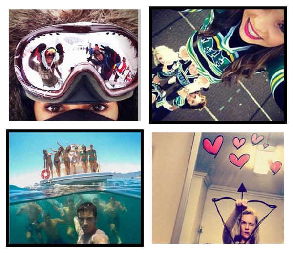 10 originele selfies