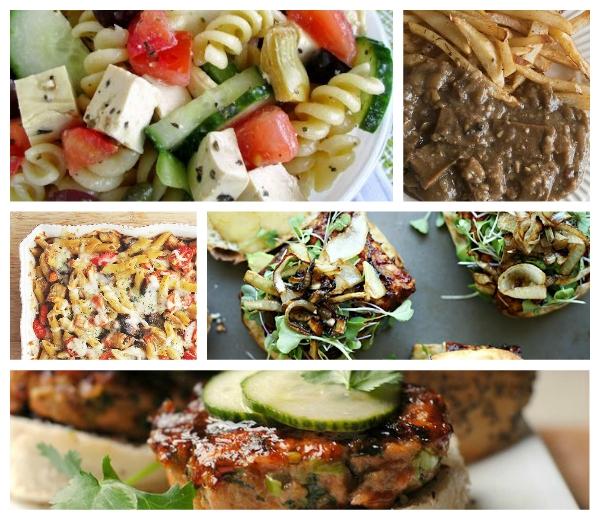 collage vleesgerechten