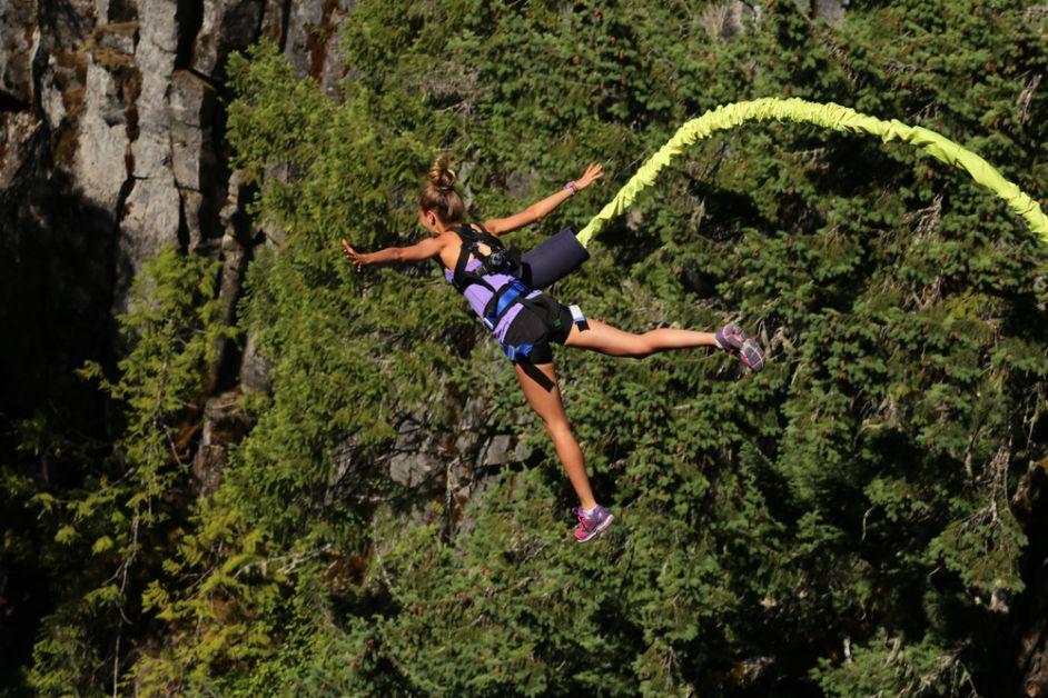 koppel, date, extreme sport, origineel, bungeejump