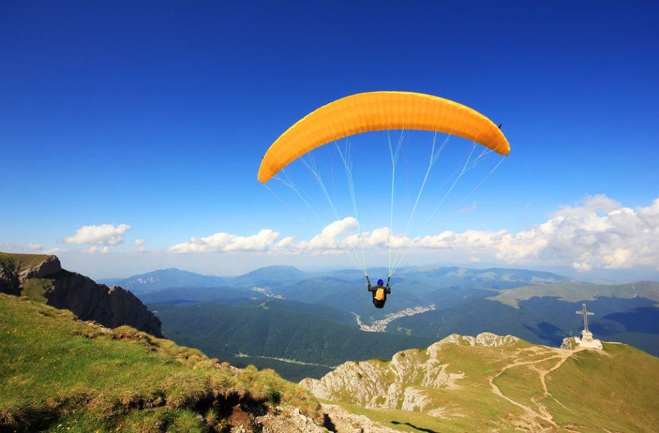 koppel, date, extreme sport, origineel, parachutespringen