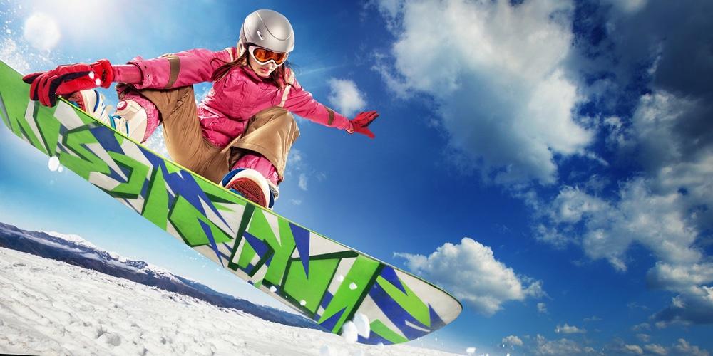 koppel, date, extreme sport, origineel, snowboard