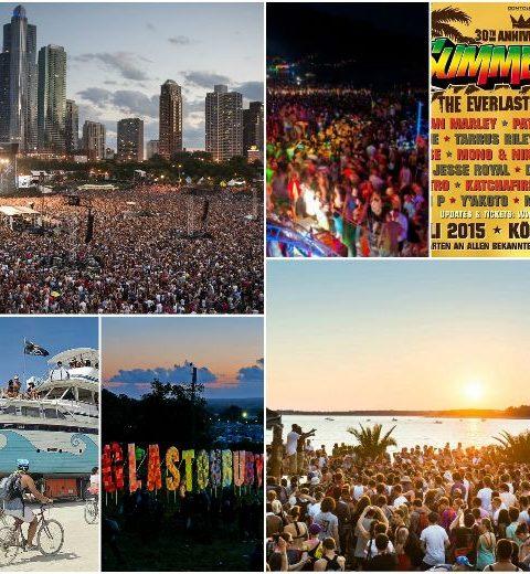 10 festivals in het buitenland