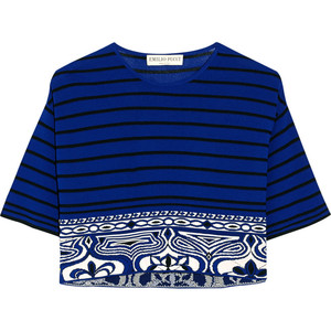 EMILIO PUCCI - Cropped knitted top - €620