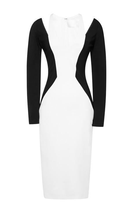 CUSHNIE ET OCHS - Cutout jersey-crepe dress - €1,430