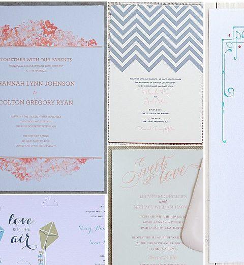 12 x mooie en gratis trouwuitnodigingen