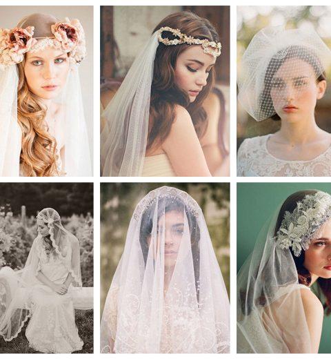 How to: 7 manieren om een bruidsluier te dragen