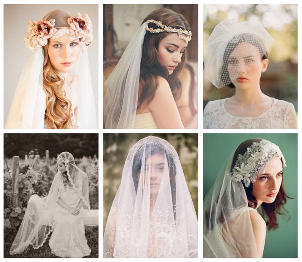 7 manieren om bruidsluier te dragen