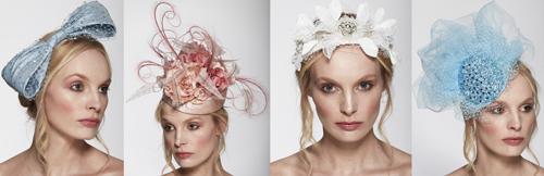 Accessoires van Londense hoedenmaakster Alexandra Harper